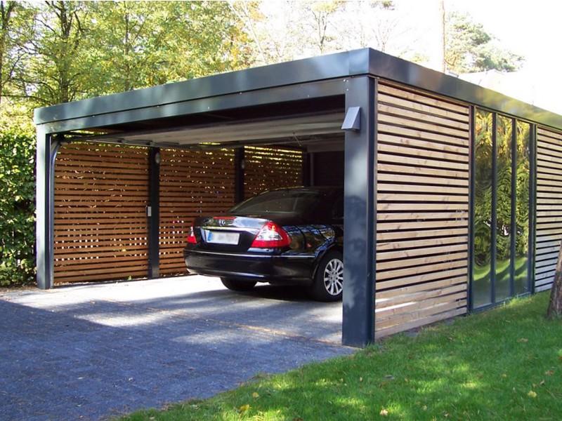 Строительство гаражей из сэндвич панелей под ключ